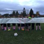 CASL U10 boys support breast cancer awareness